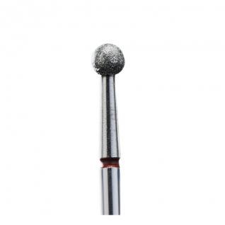 Staleks Фреза алмазна червона куля діаметр 3,5 мм FA01R035K