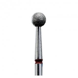 Staleks Фреза алмазна червона куля діаметр 4 мм FA01R040K