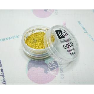 Бульонки Richcolor золото 0,6 мм
