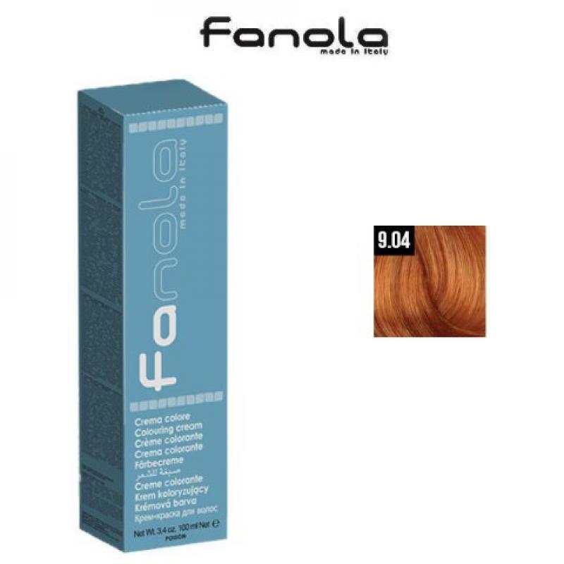 Fanola Фарба для волосся № 9.04 Natural Very Light Copper Blonde