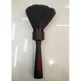 Щітка для змітання волосся штучна чорна щетина S-T6