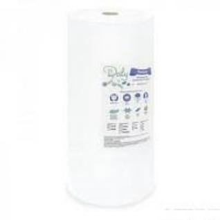 Рушники в рулоні Panni Mlada™ 35х70 см (100 шт/рул) зі спанлейсу 40 г/м2 Текстура: сітка