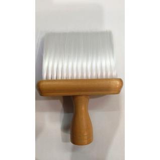 Щітка для змітання волосся HS33339 плоска искусттв. дерев. ручка proline