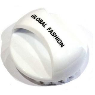 Global Щітка для видалення пилу для нігтів кругла біла