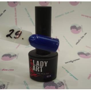 Гель лак для ногтей № 029  7мл. Lady Art