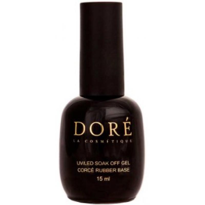 Dore База 15 мл CORCE для гель лака /Premium Base 15 ml with a brush CORCE