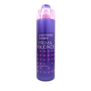 Estel PRIMA BLONDE Сріблястий шампунь 1000 мл для холодних відтінків блонд PB