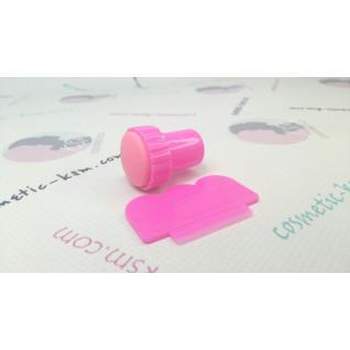 Штамп міні яскраво-рожевий Salon Prof