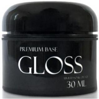 Gloss База Premium Base 30 ml (широке горлечко) without brush