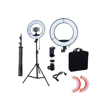 Кільцева лампа RL-18 LED 44,5 см з регулюванням