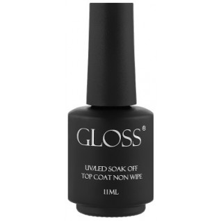 Gloss Топ/Top Coat non wipe 11 ml with a brush